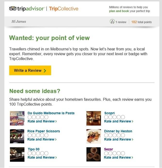 Tripadvisor fake reviews
