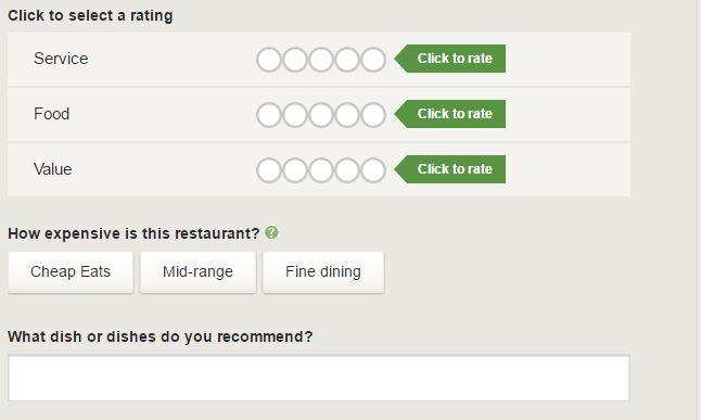 Fake Tripadvisor Reviews Rating