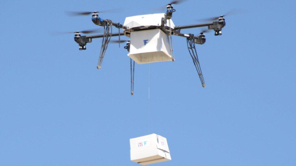 Flirtey Restaurant Drone Delivery