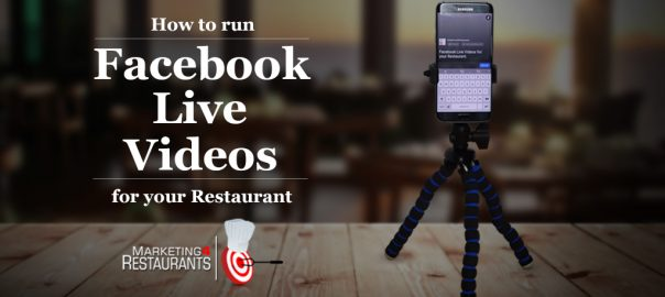 Facebook Live Video Restaurant