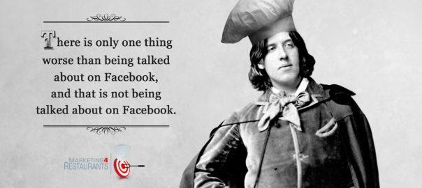 Oscar Wilde Facebook