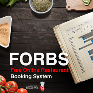 Free Online Restaurant Booking System (FORBS) by Marketing4Restaurants.com
