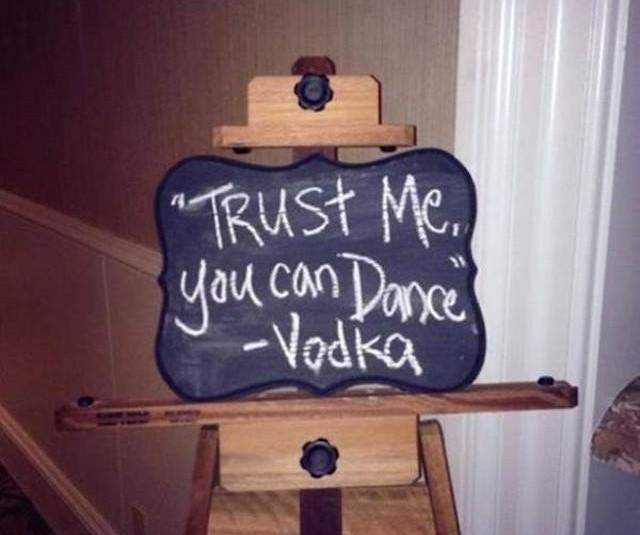 Best Restaurant Chalkboard Ads - Trust Me
