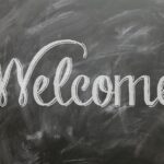 Best Restaurant Chalkboard Ads - Welcome