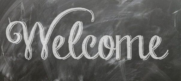 Best Restaurant Chalkboard Ads - Welcome