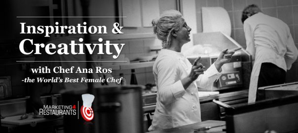 Restaurant insipiration and creativity - Ana Ros