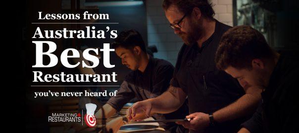 Secret Sauce Episode 48 - The best Restaurant in Australia