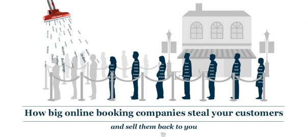 Secret Sauce episode 53 – How big online booking companies steal your customers and sell them back to you