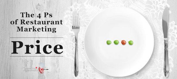 4Ps of Restaurant Marketing - Price