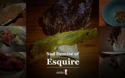 88 – The sad, sad demise of Esquire in Brisbane