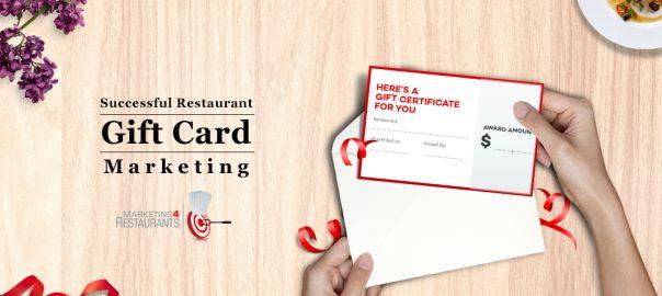 Restaurant Gift Card System