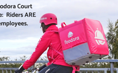 Foodora employees – Riders are not contractors.
