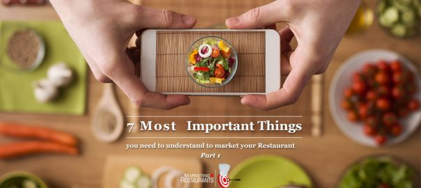 Episode 100: 7 Most Important Things you need to understand to market your Restaurant