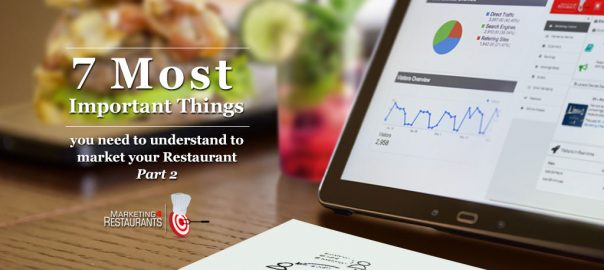 Episode 101: 7 Most Important Things you need to understand to market your Restaurant