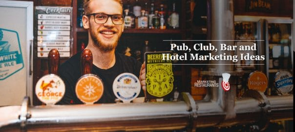 Pub Marketing ideas