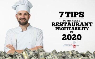 130 – 7 tips for Restaurant Profitability in 2020