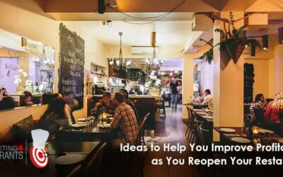 138 – 10 Ideas To Help You Improve Profitability As You Reopen Your Restaurant After COVID-19