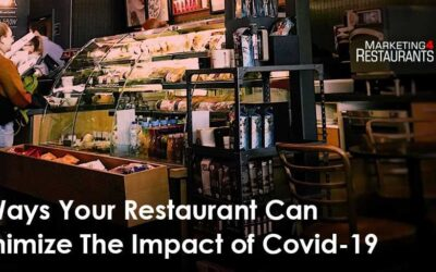 5 Ways Your Restaurant Can Minimize The Impact of Covid 19